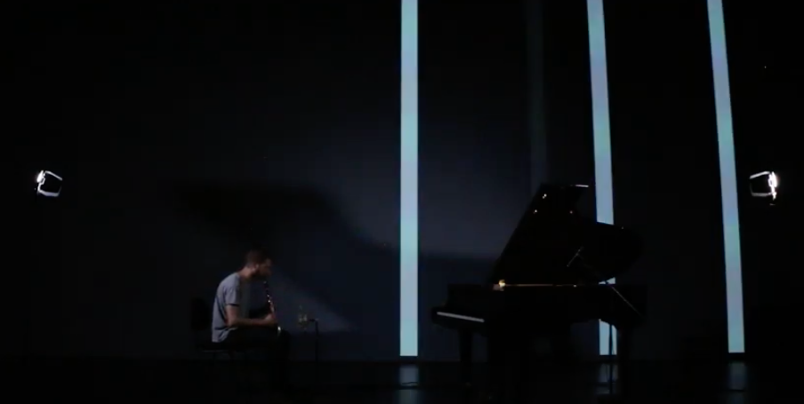 Just another beautiful #multimedia work with a Disklavier...
